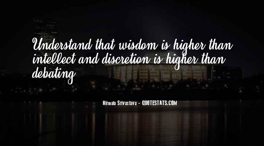 Love Discretion Quotes #1820319