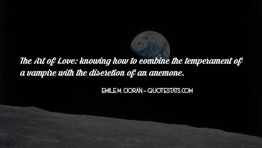Love Discretion Quotes #468445