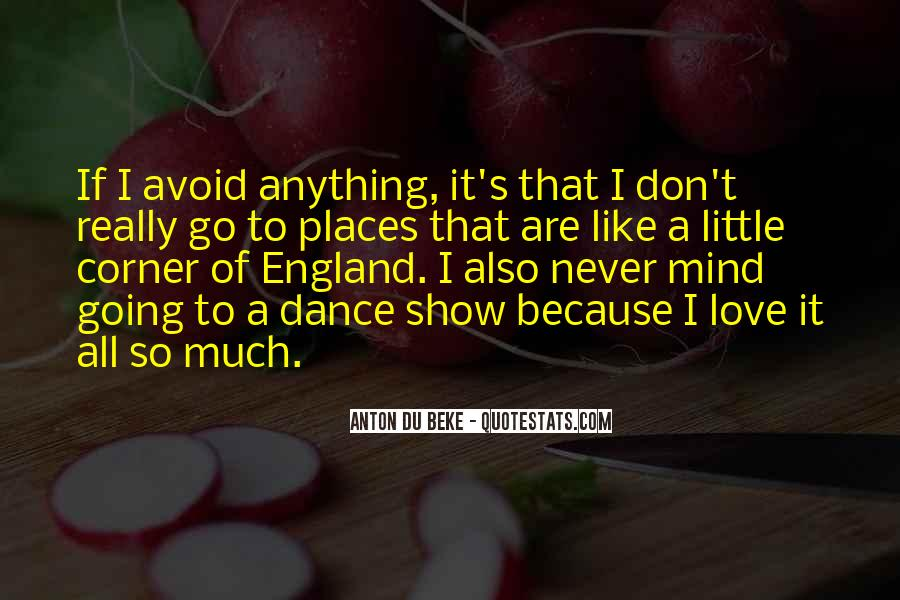 Love England Quotes #122880
