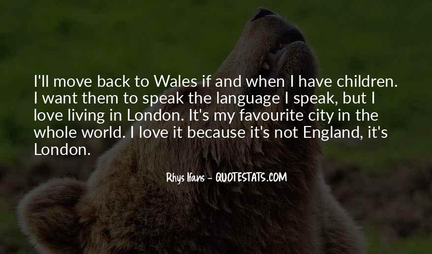 Love England Quotes #1244315