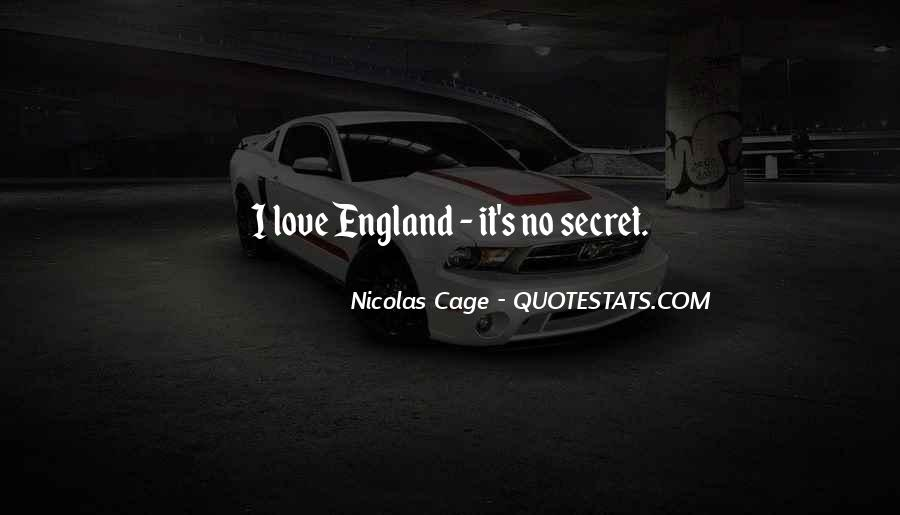 Love England Quotes #1277651