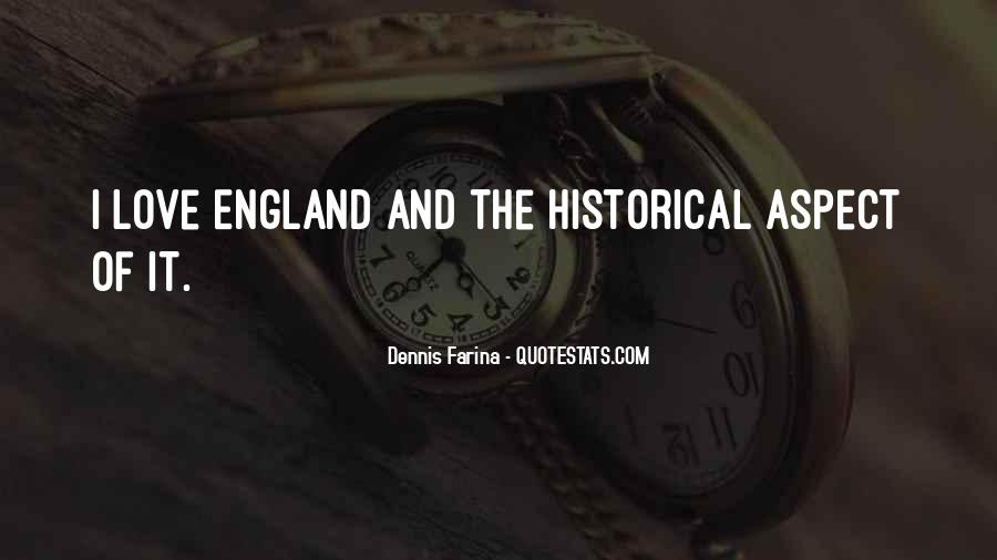 Love England Quotes #1325119