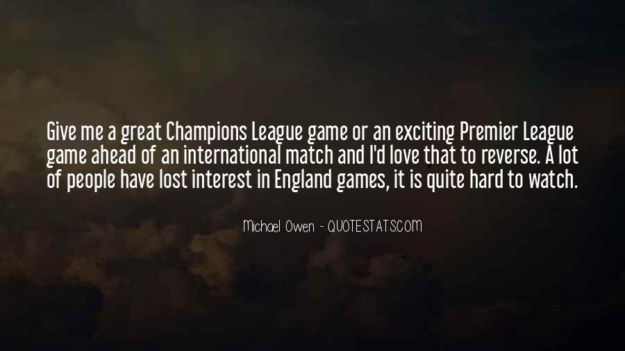 Love England Quotes #274761