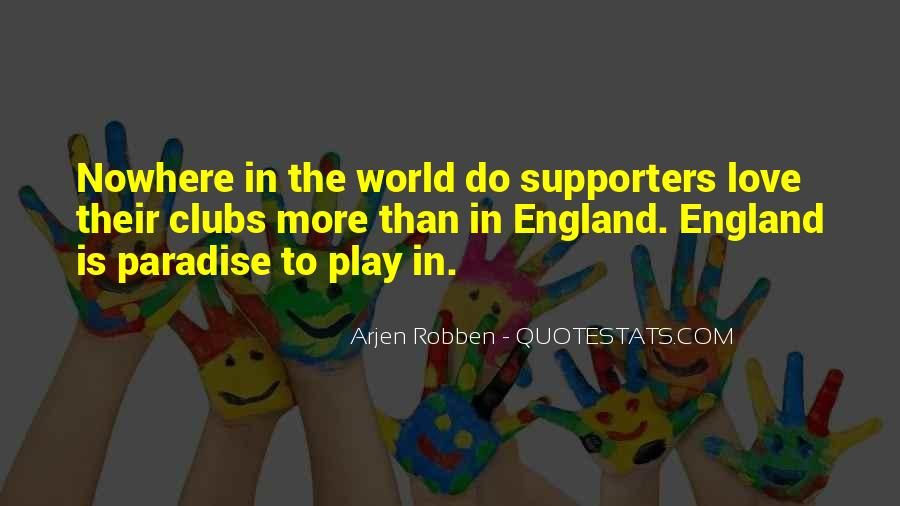 Love England Quotes #42588