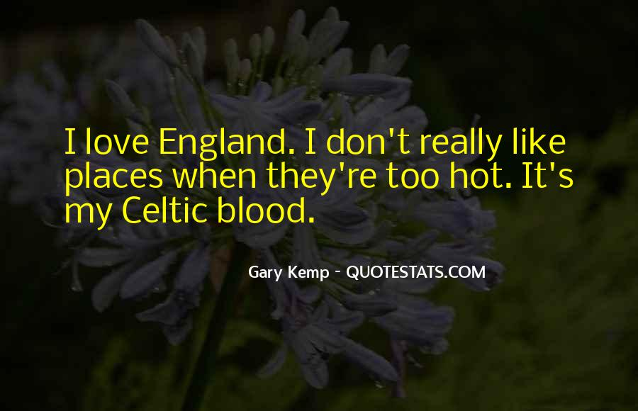 Love England Quotes #517078