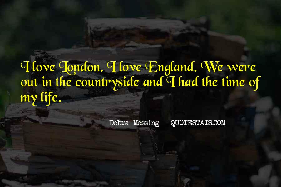 Love England Quotes #704508