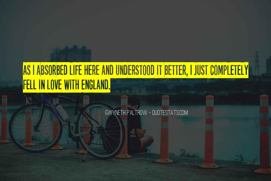 Love England Quotes #823358