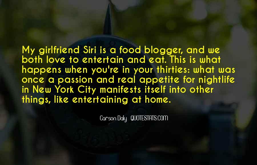 Love Entertaining Quotes #1212643