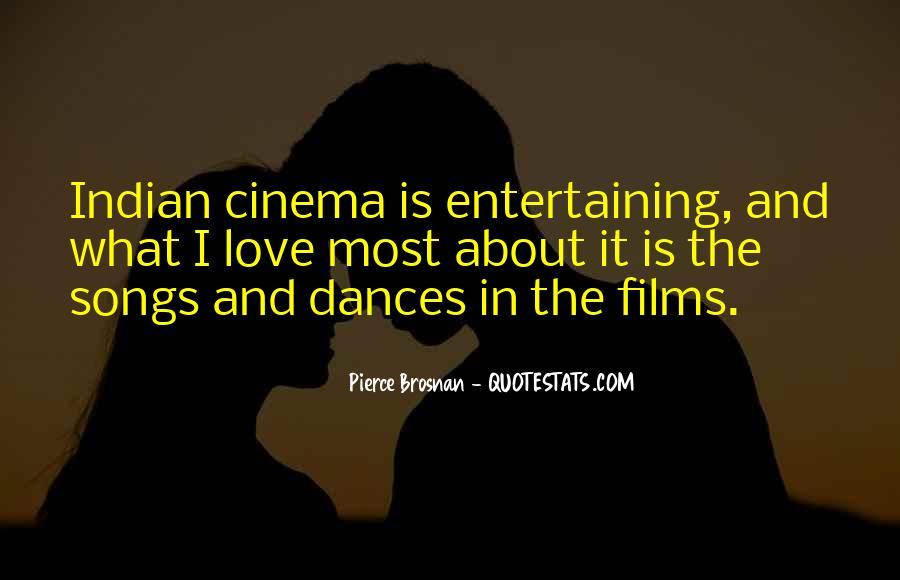 Love Entertaining Quotes #1543323