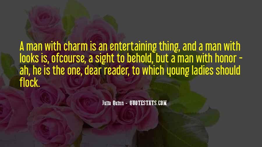 Love Entertaining Quotes #476181
