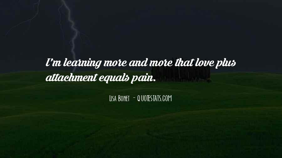 Love Equals Pain Quotes #646284