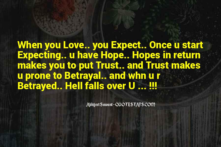 Love Expect Nothing In Return Quotes #483389