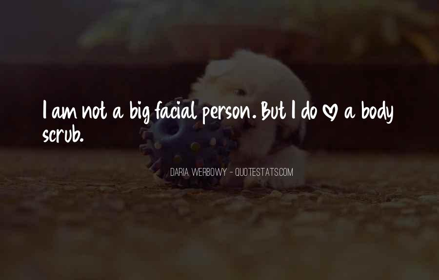 Love Facial Quotes #1187977