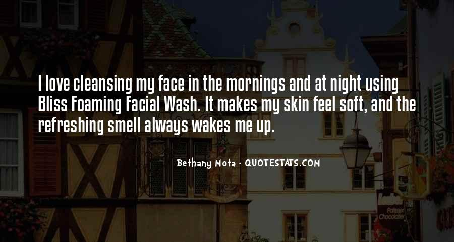 Love Facial Quotes #1409655