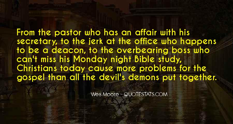 Quotes About Demons Bible #1460184