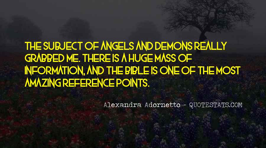 Quotes About Demons Bible #1630130