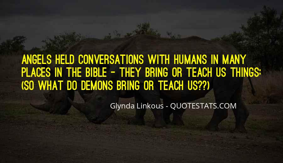 Quotes About Demons Bible #298090