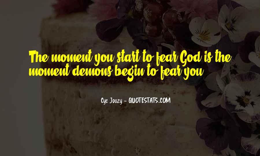Quotes About Demons Bible #430664
