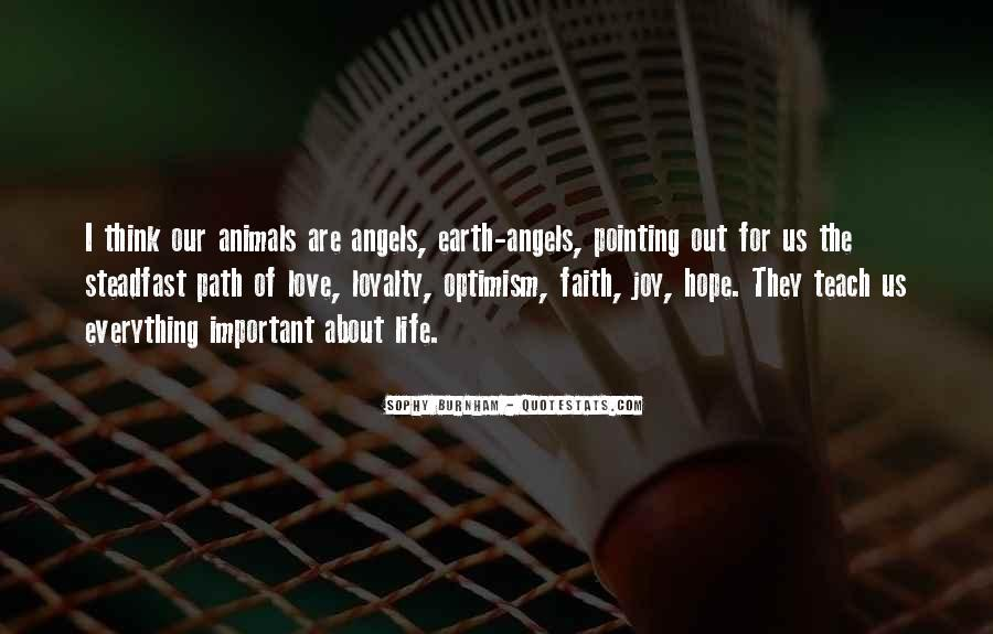 Love Faith Loyalty Quotes #348383