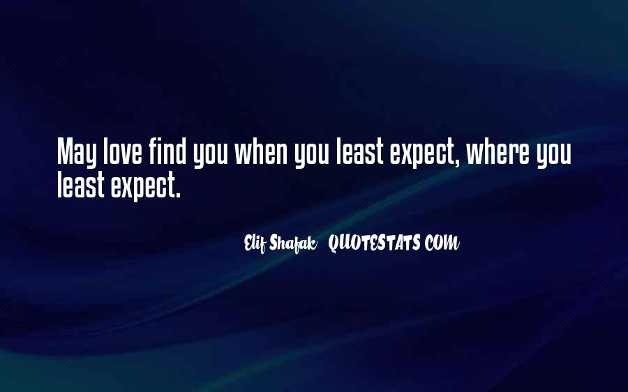 Love Find You Quotes #121631