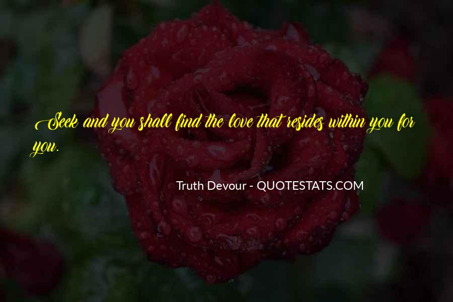 Love Find You Quotes #28914