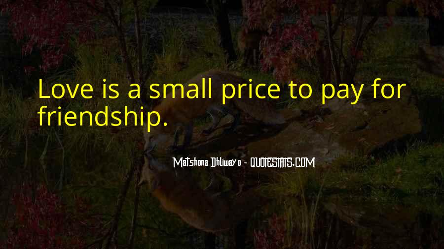 Love For Friendship Quotes #404303