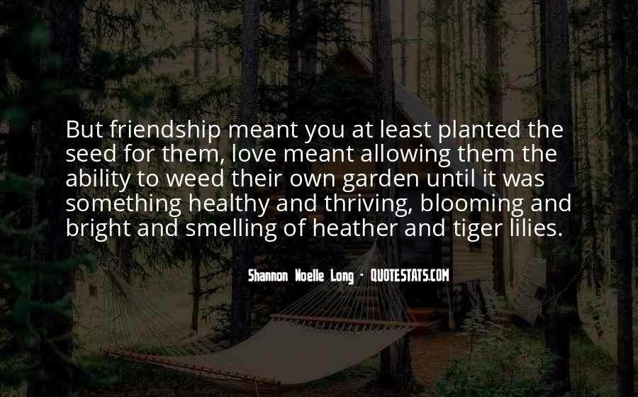 Love For Friendship Quotes #51636