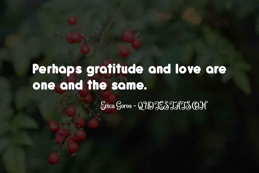 Love Gratitude Quotes #508015