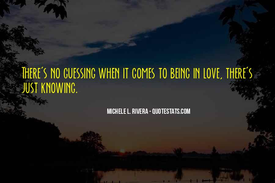 Love Guessing Quotes #339335