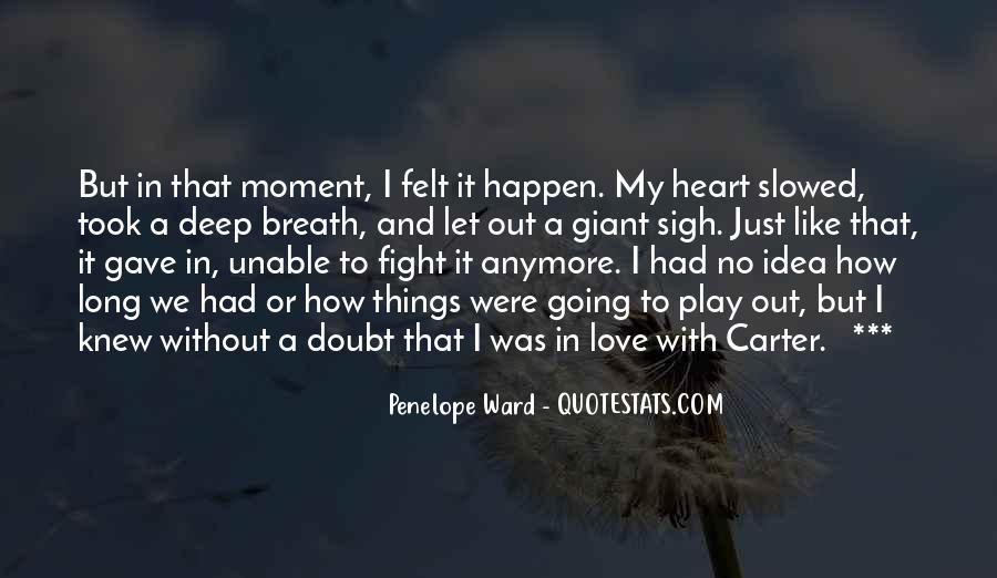 Love Happen Quotes #101550