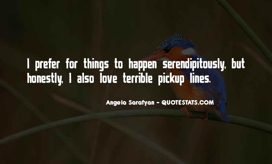 Love Happen Quotes #113832