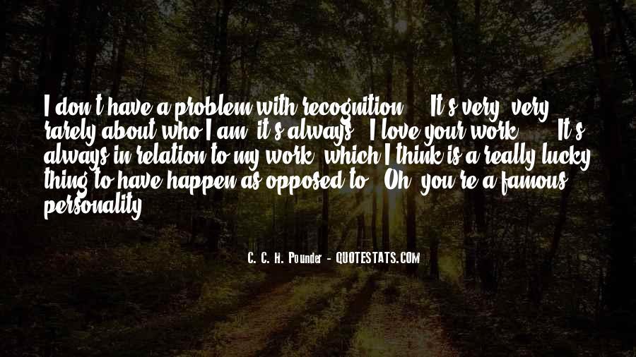 Love Happen Quotes #114998