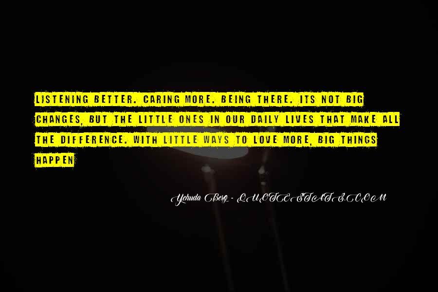 Love Happen Quotes #132609