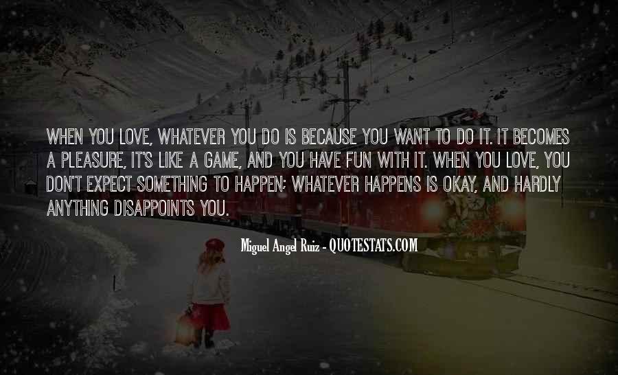 Love Happen Quotes #16320