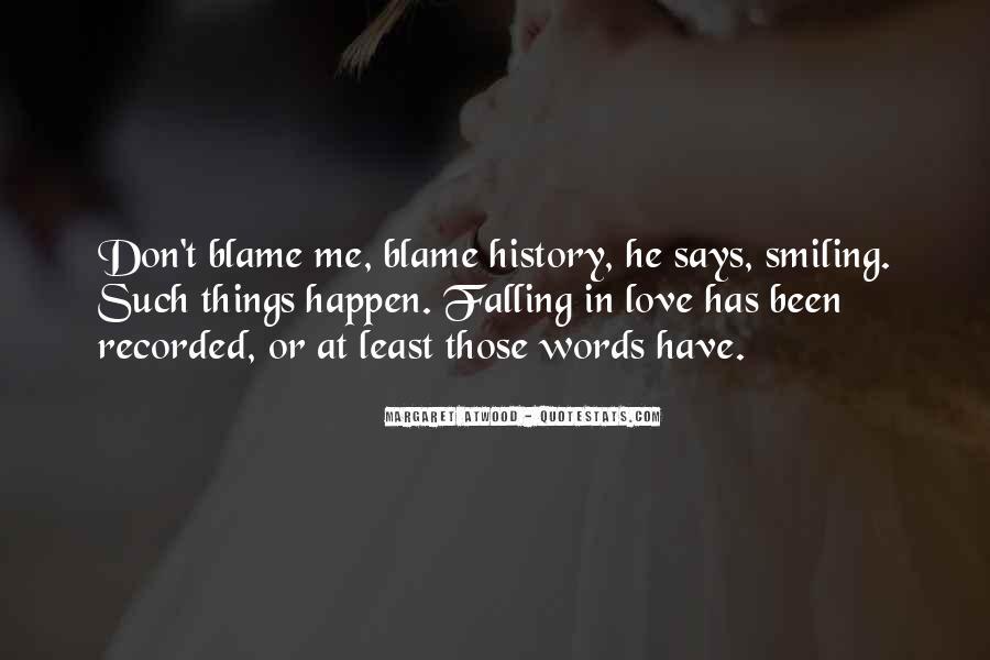 Love Happen Quotes #179388