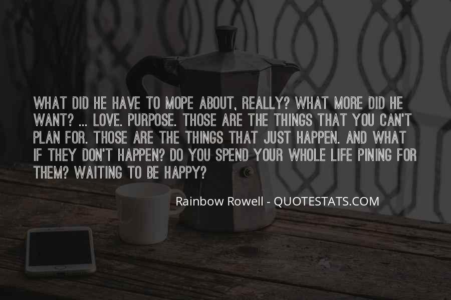 Love Happen Quotes #191898