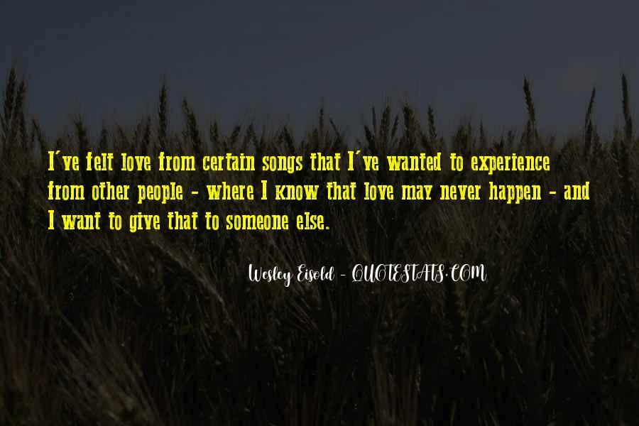 Love Happen Quotes #195003