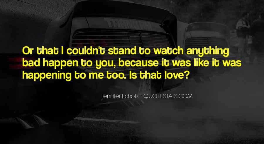 Love Happen Quotes #207307