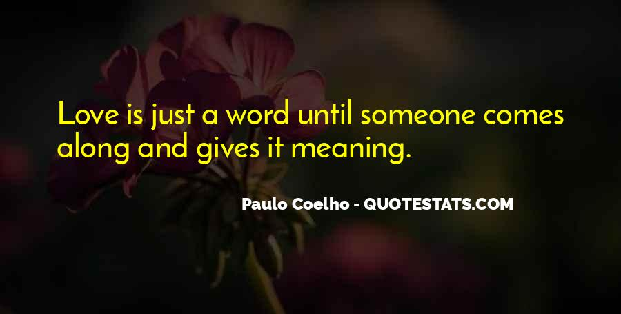 Love Has No Meaning Quotes #132358
