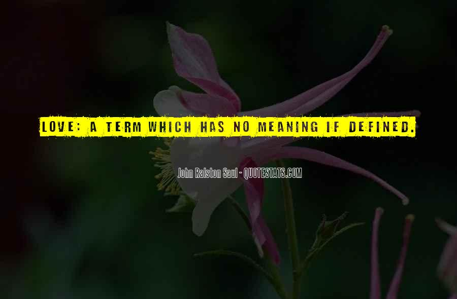 Love Has No Meaning Quotes #539202