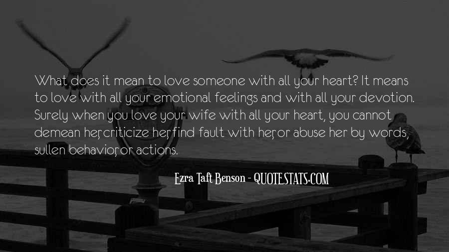Love Her With All Your Heart Quotes #1549
