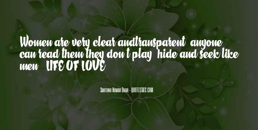 Love Hide And Seek Quotes #9491