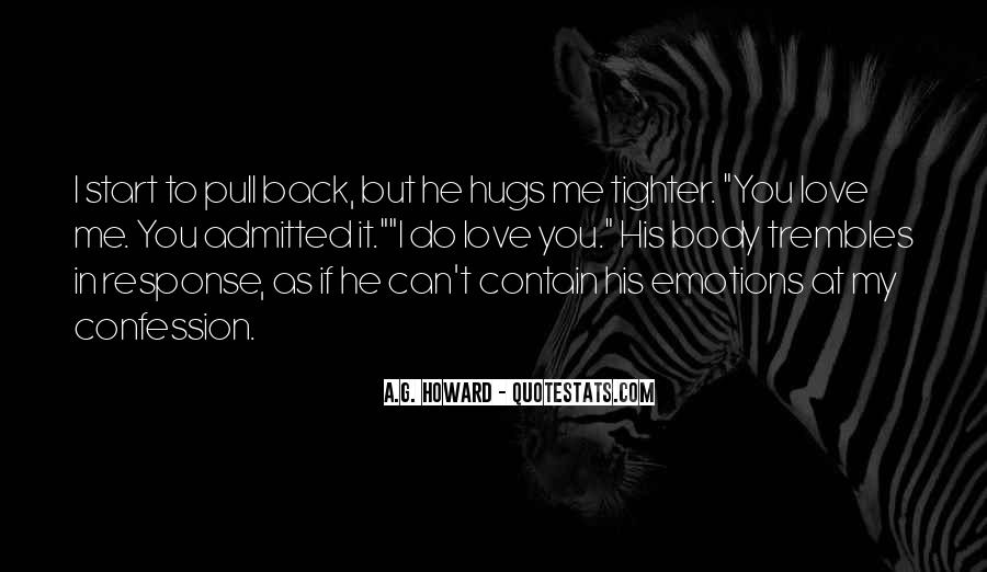 Love His Hugs Quotes #134982