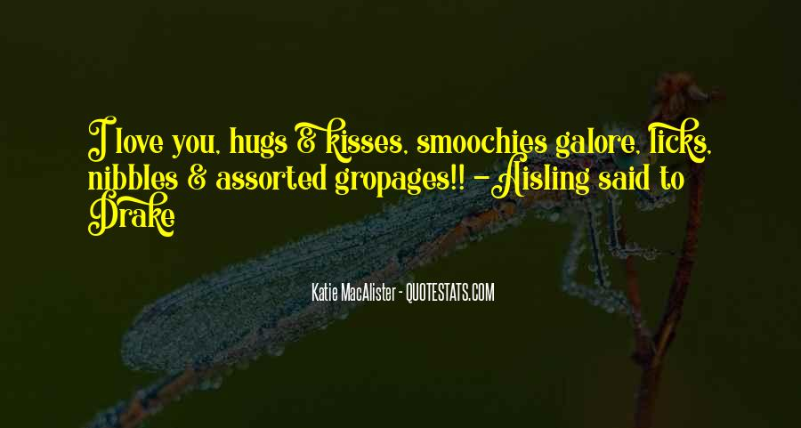 Love His Hugs Quotes #426647