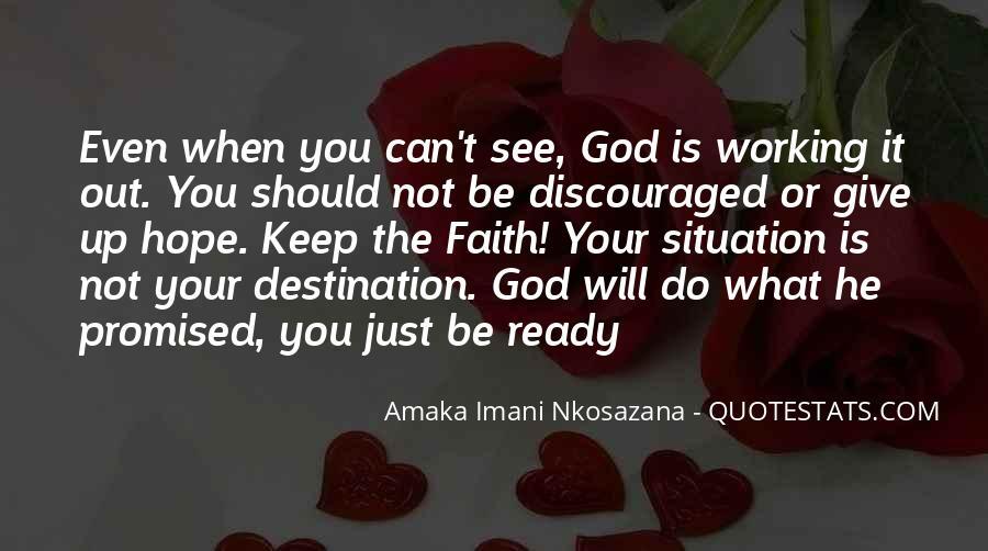 Love Hope Faith Trust Quotes #1416711