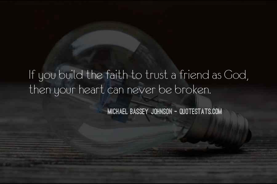 Love Hope Faith Trust Quotes #1740933