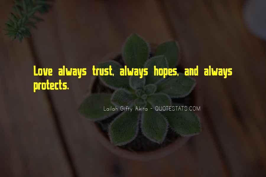 Love Hope Faith Trust Quotes #596978