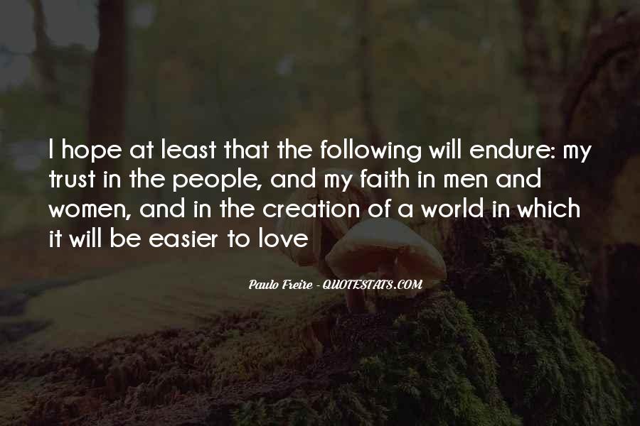 Love Hope Faith Trust Quotes #656077