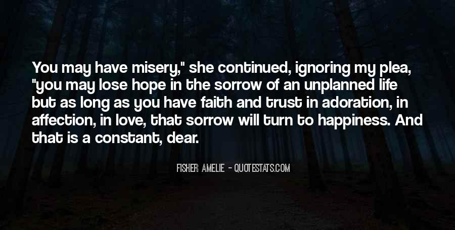 Love Hope Faith Trust Quotes #781911