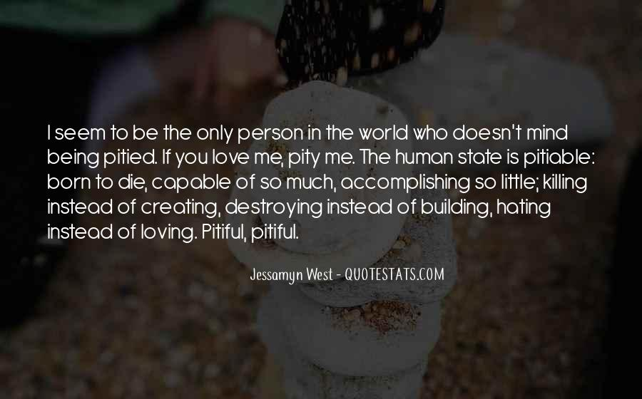 Love Human Being Quotes #143581